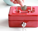 Miniature Cash Box & Piggy Bank