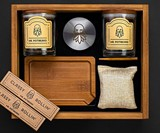Mr. Potbeard Bamboo Stash Box Kit