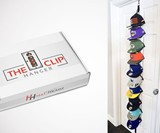 The Clip Hanger Hat Rack