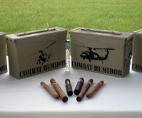 Combat Cigar Humidor