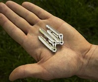 TIK Ultra-Thin Bike Chain Keychain