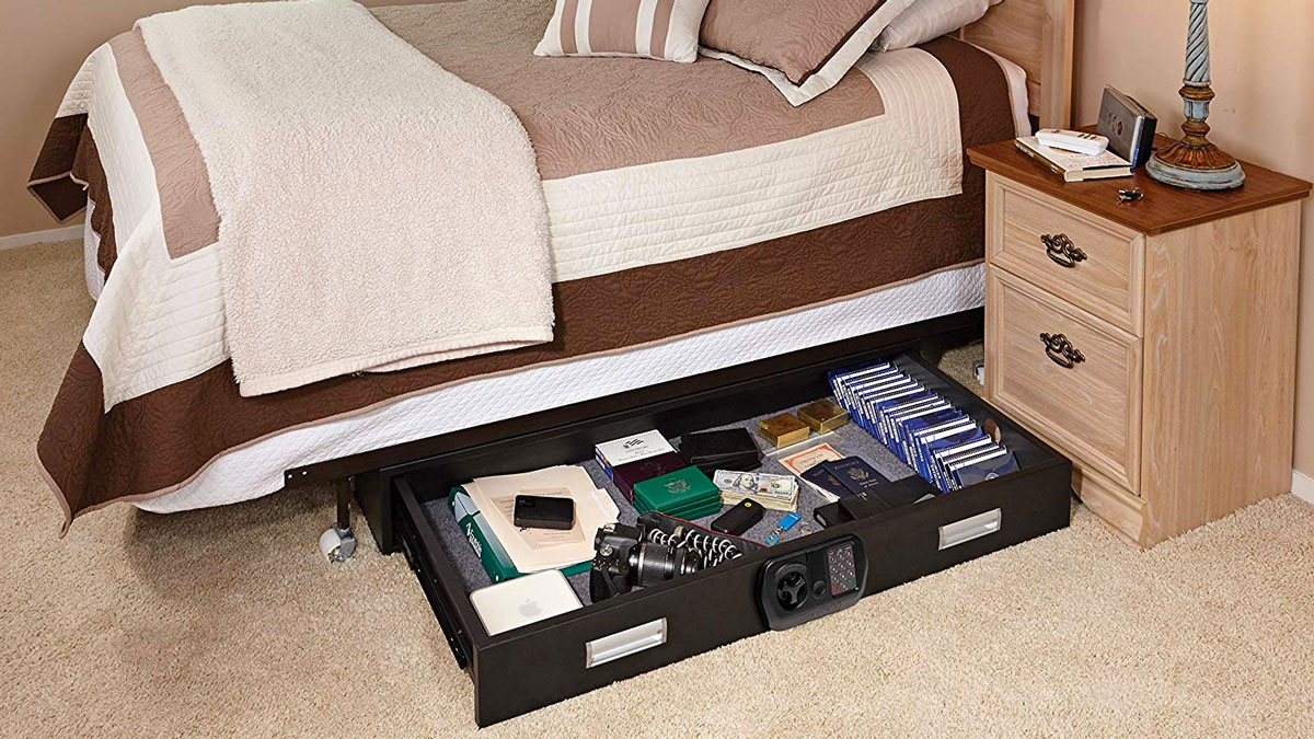 SnapSafe Under Bed & Trunk Safe