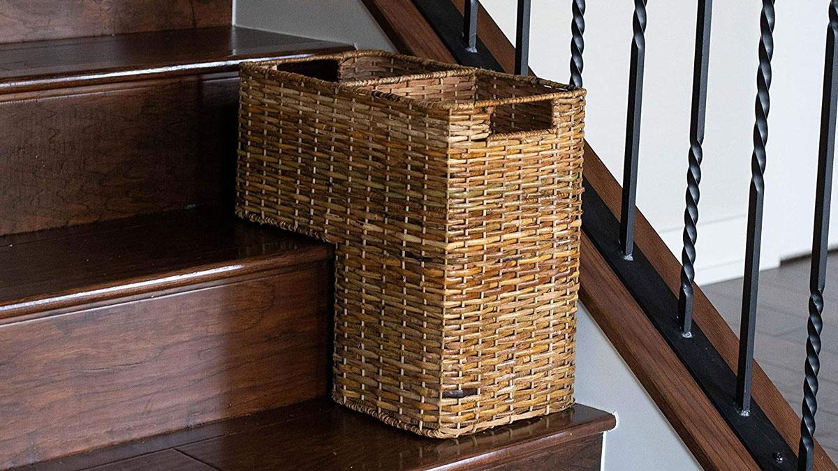 Staircase Storage Basket
