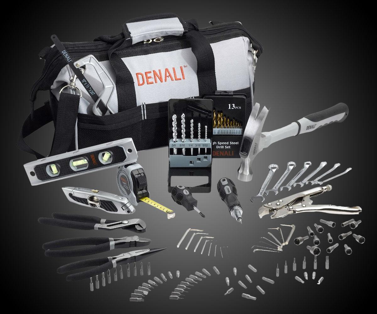 Denali 115 Piece Home Repair Tool Kit Dudeiwantthat Com