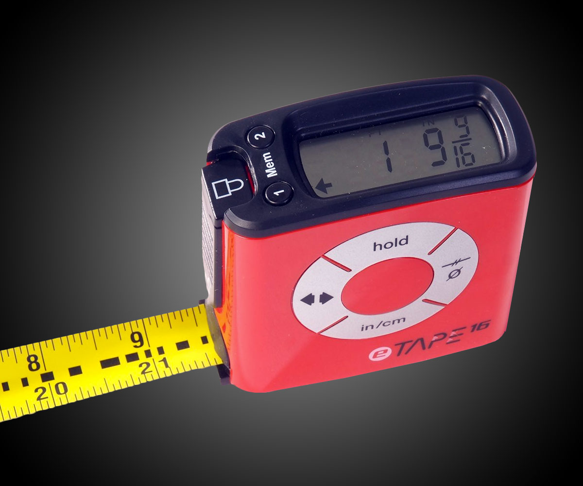 Electronic Tape Measure : Digital tape measure dudeiwantthat