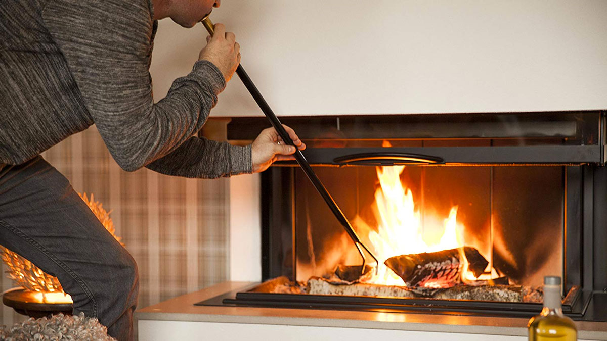Firedragon: Blow Poke Fireplace Tool