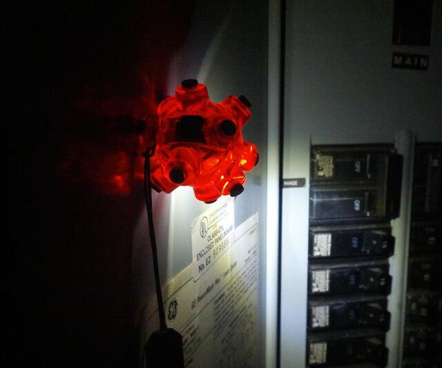 Hands-Free Magnetic Light