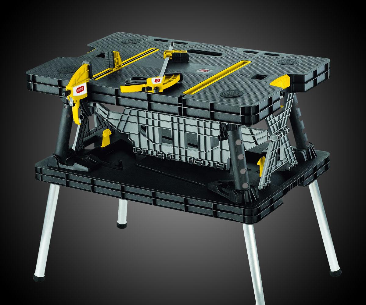 Folding table keter - Keter Adjustable Folding Work Station