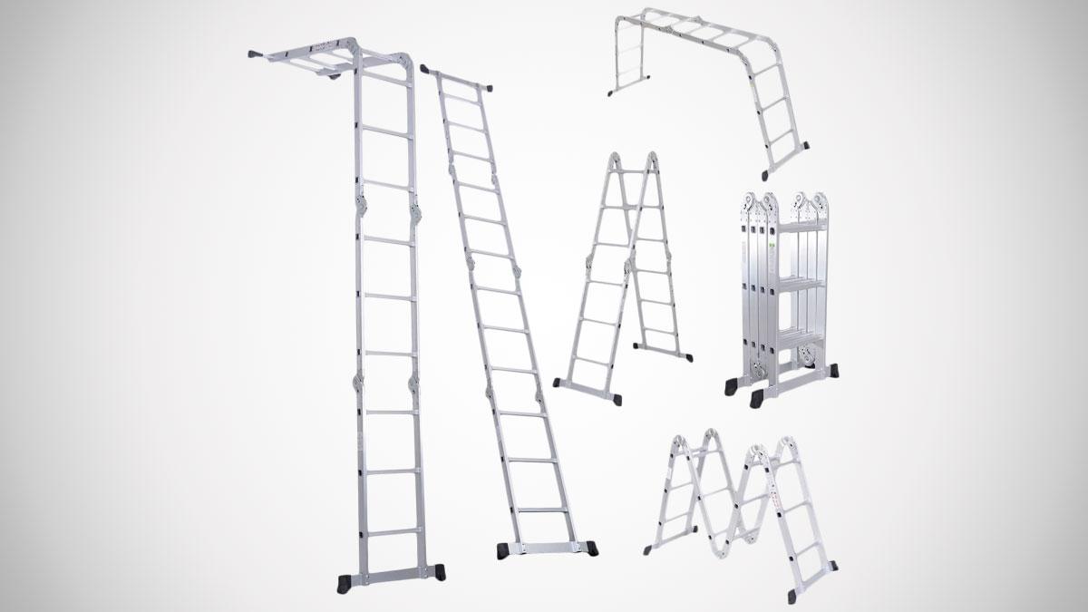 Luisladders Triple-Jointed Folding Ladder
