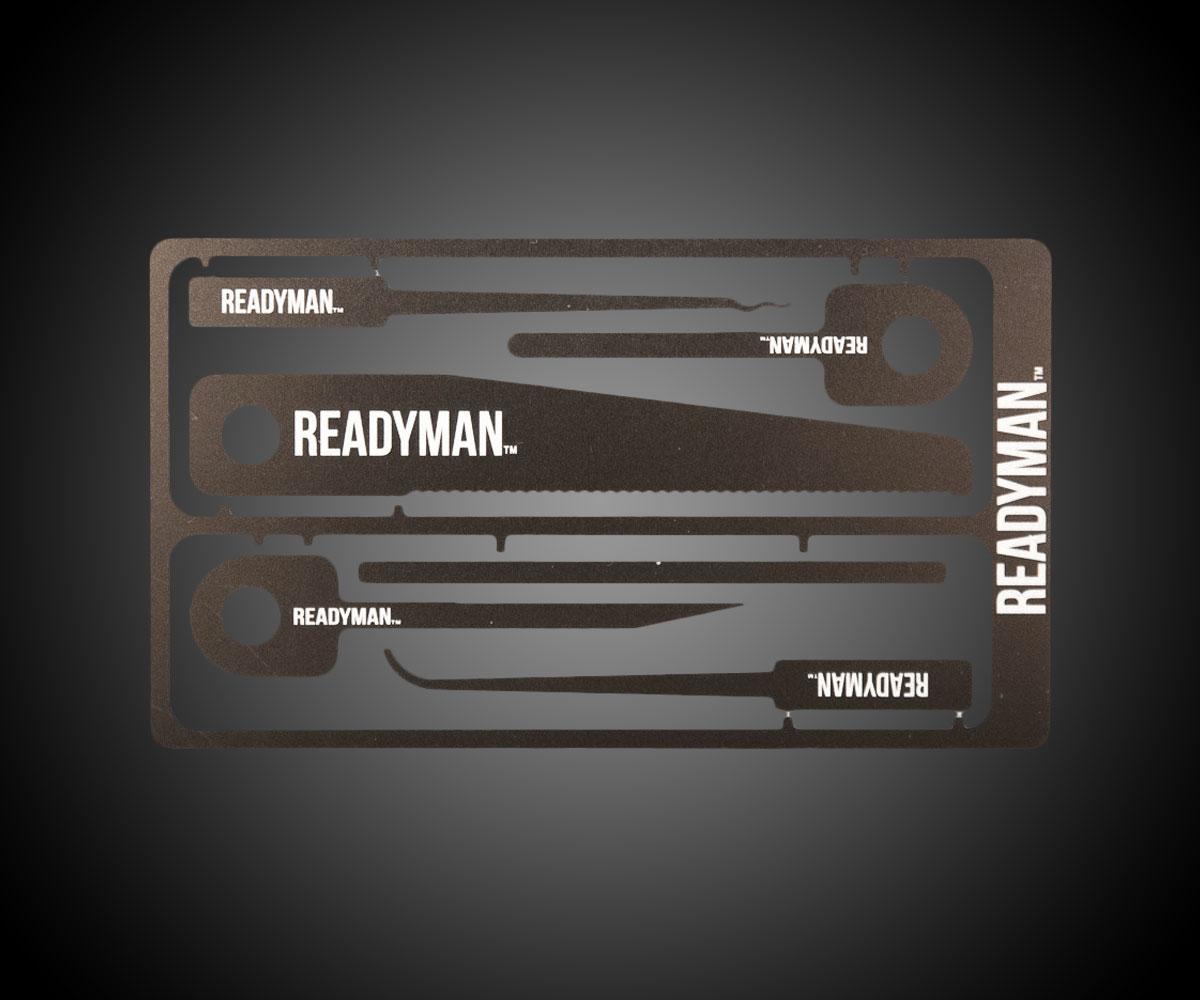 Readyman Hostage Escape Credit Card