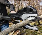 The JawSaw Electric Chainsaw-Pruner Hybrid