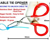 1-Second Cable Tie Opener & Preserver