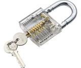 Cutaway Practice Padlock & Lock Pick Set