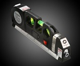 Laser Level & Measuring Tape