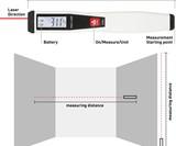 Penlaser Mini 50' Laser Distance Meter