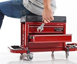 Rolling Toolbox Stool