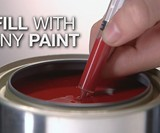 Slobproof Fillable Brush Pens for Paint Touch-Ups