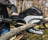 The JawSaw Electric Chainsaw-Pruner Hybrid