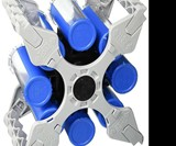 Tube Cube Rotary Small Parts Organizer