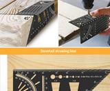 Welltop 3D Woodworking Ruler