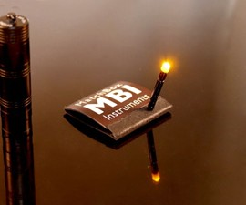 MBI Mini Flashlight Matchbook