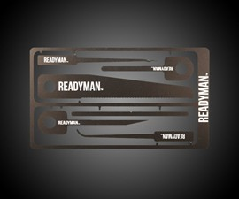 Readyman Hostage Escape Credit Card