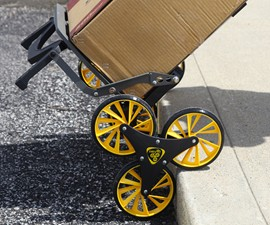 UpCart - All-Terrain Stair-Climbing Cart