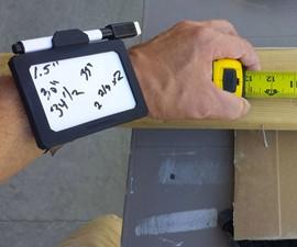 Wear-N-Write Wearable Dry Erase Board