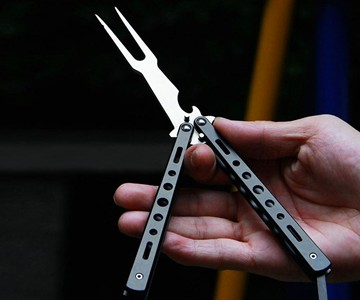 Butterfly BBQ Fork & Bottle Opener