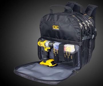 Custom LeatherCraft 75-Pocket Tool Backpack