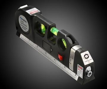 Laser Level & Measuring Tape