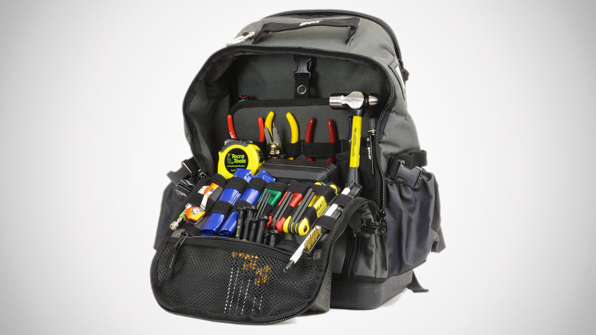 Tecra Tools 75-Piece Backpack Tool Kit