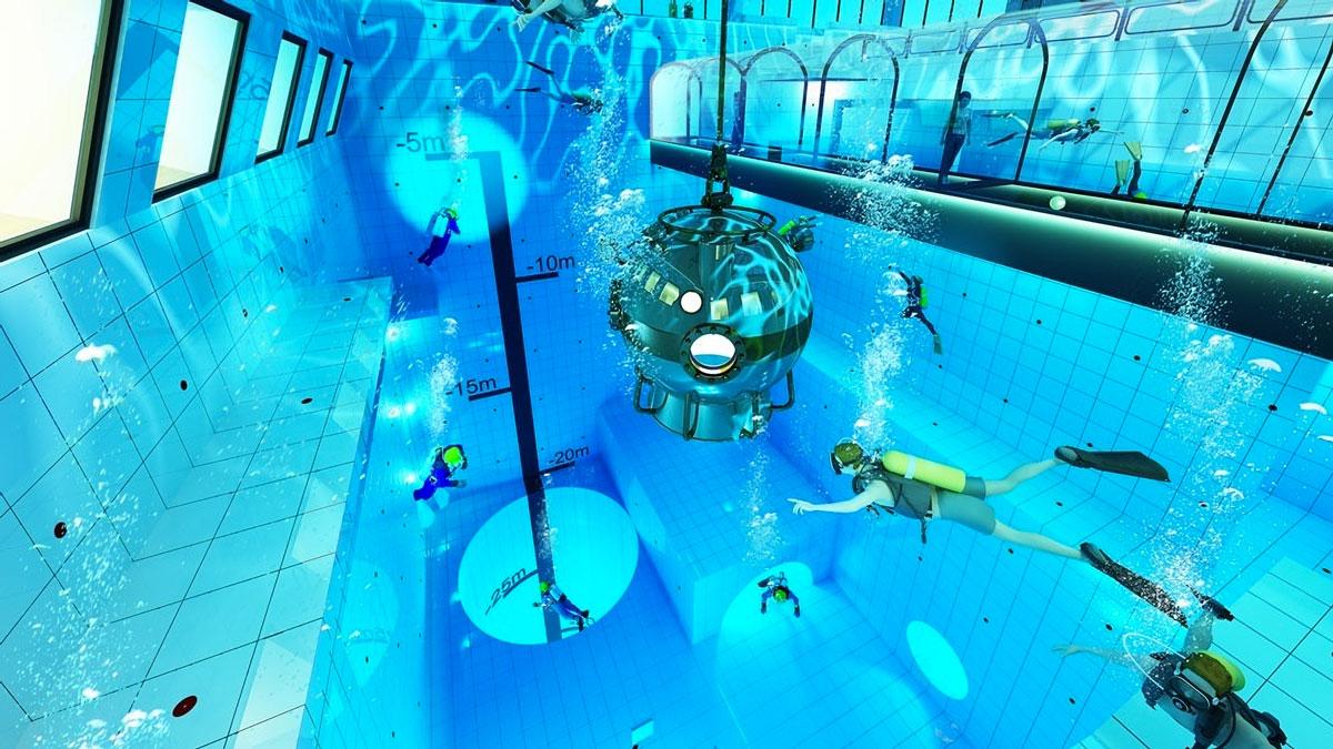 Deepspot - World's Deepest Swimming Pool