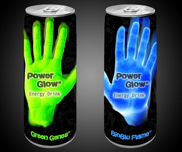 Power Glow Bioluminescent Energy Drink