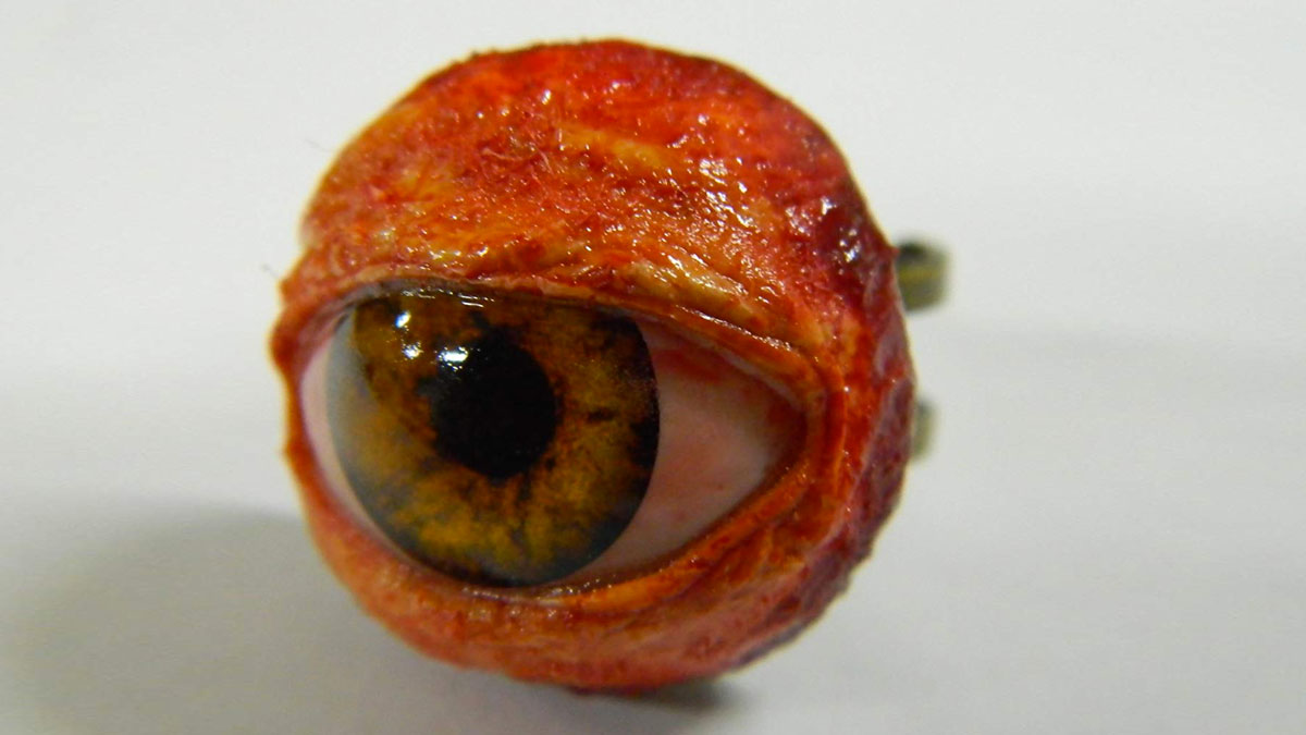 Life-Size Human Eyeball Ring