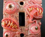 Fetid Monster Switch Plates
