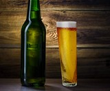 Happy Half Pint Glass