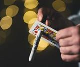 Quantum Sharpie & Playing Card Magic Trick