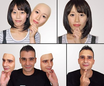 Clone Your Face 3D Mask
