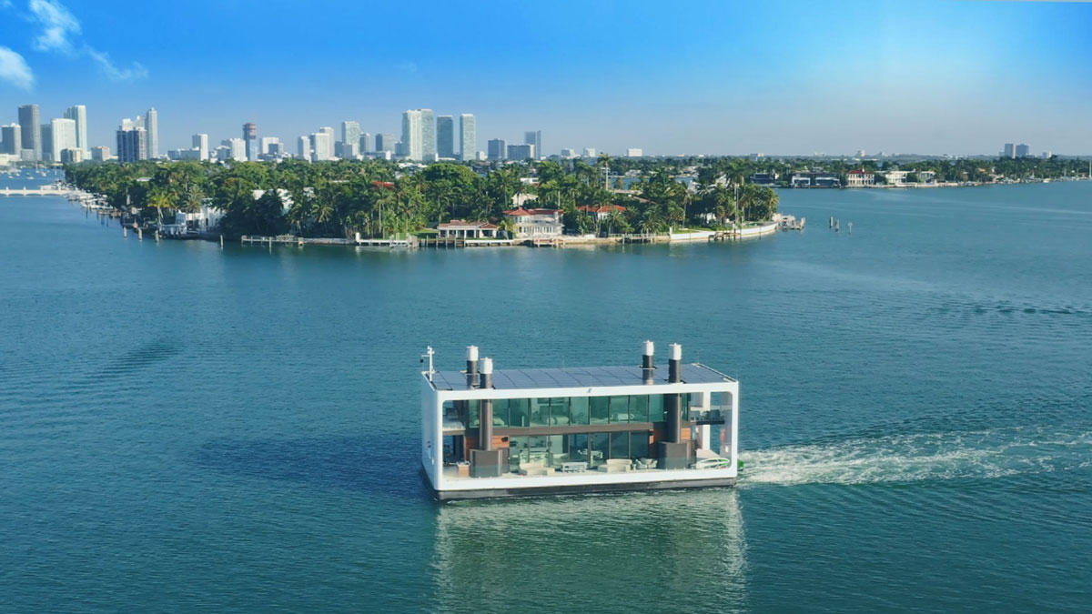 Arkup Livable Yacht - Floating Motor Home | DudeIWantThat.com