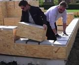 Gablok DIY Wood Block House Kit