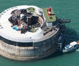 Spitbank Fort Luxury Floating Retreat
