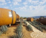 Tequila Barrel Hotel on Jalisco Agave Farm