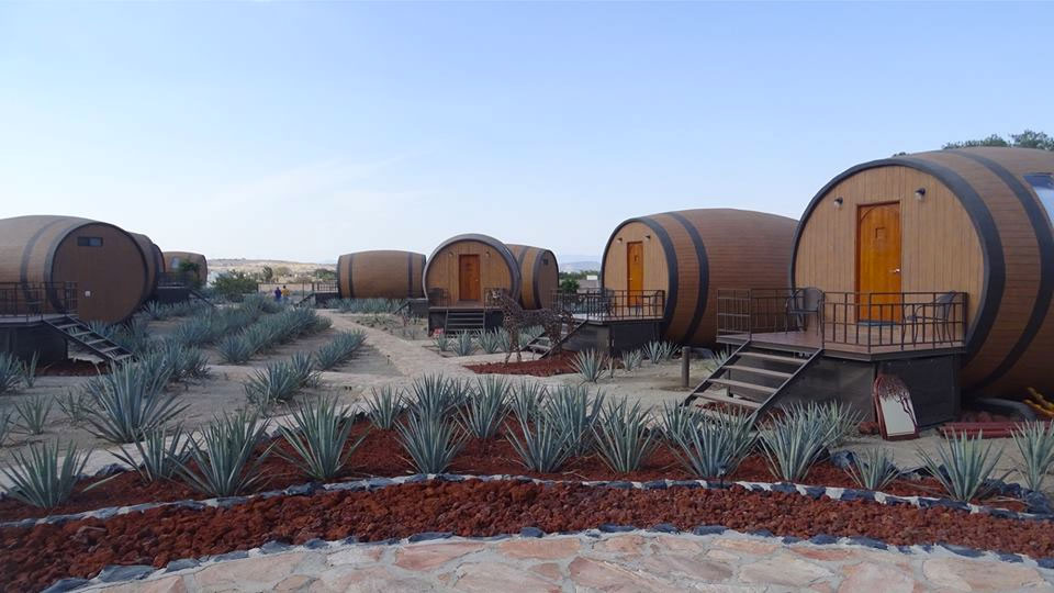Tequila Barrel Hotel On Jalisco Agave Farm Dudeiwantthat Com