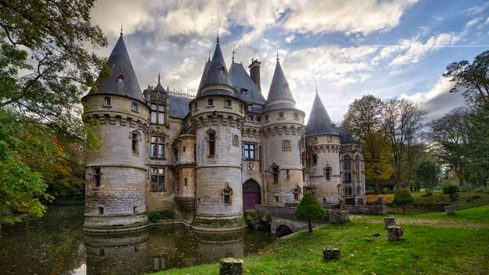 The Chateau De Vigny