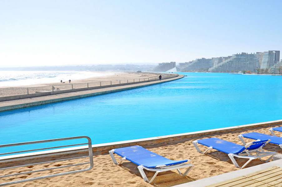 The World S Largest Swimming Pool Dudeiwantthat Com