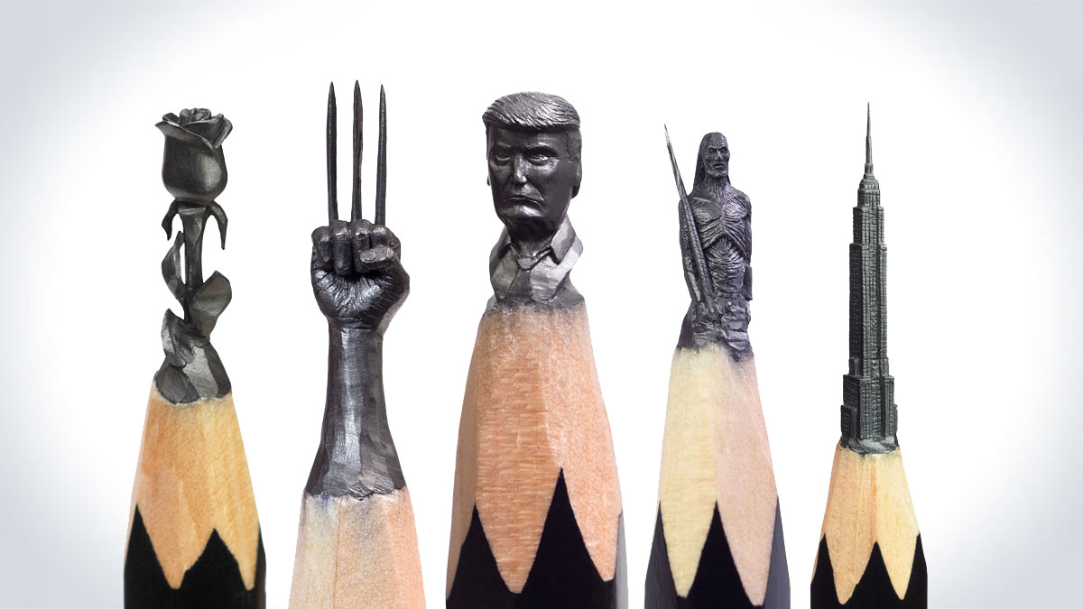 Pencil Tip Sculptures