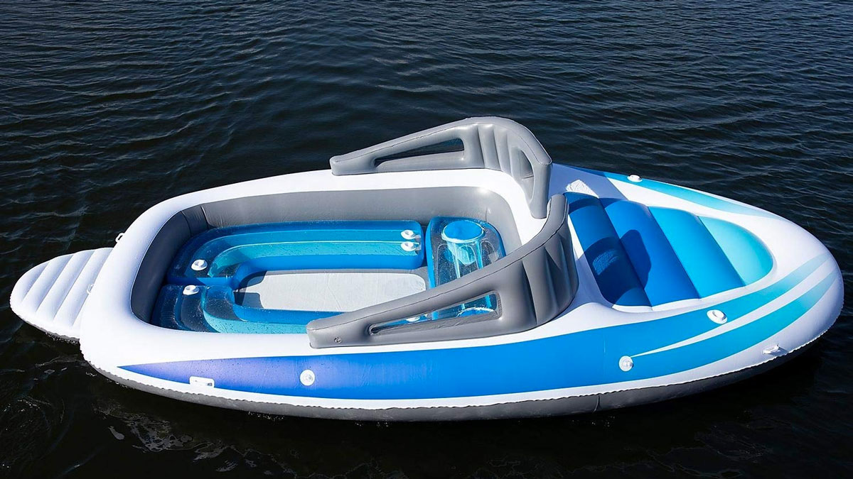 6 Person Inflatable Speed Boat Dudeiwantthat Com