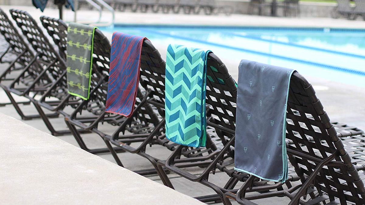 Acteon Antibacterial Microfiber Beach Towels