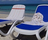 Beach Chair Buddy Towel Strap